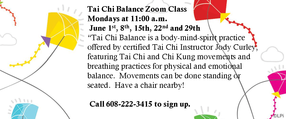 Zoom Tai Chi June