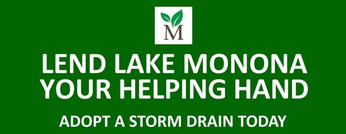 Adopt a Storm Drain Today