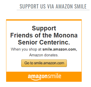 Graphic Support The Friends through AmazonSmile