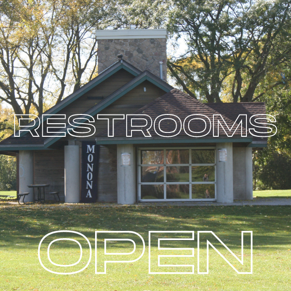 Restrooms Open