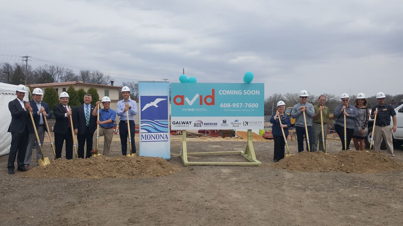 Groundbreaking at Riverfront Redevelopment