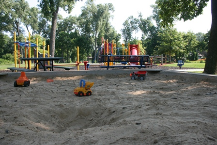 Maywood Park sandbox