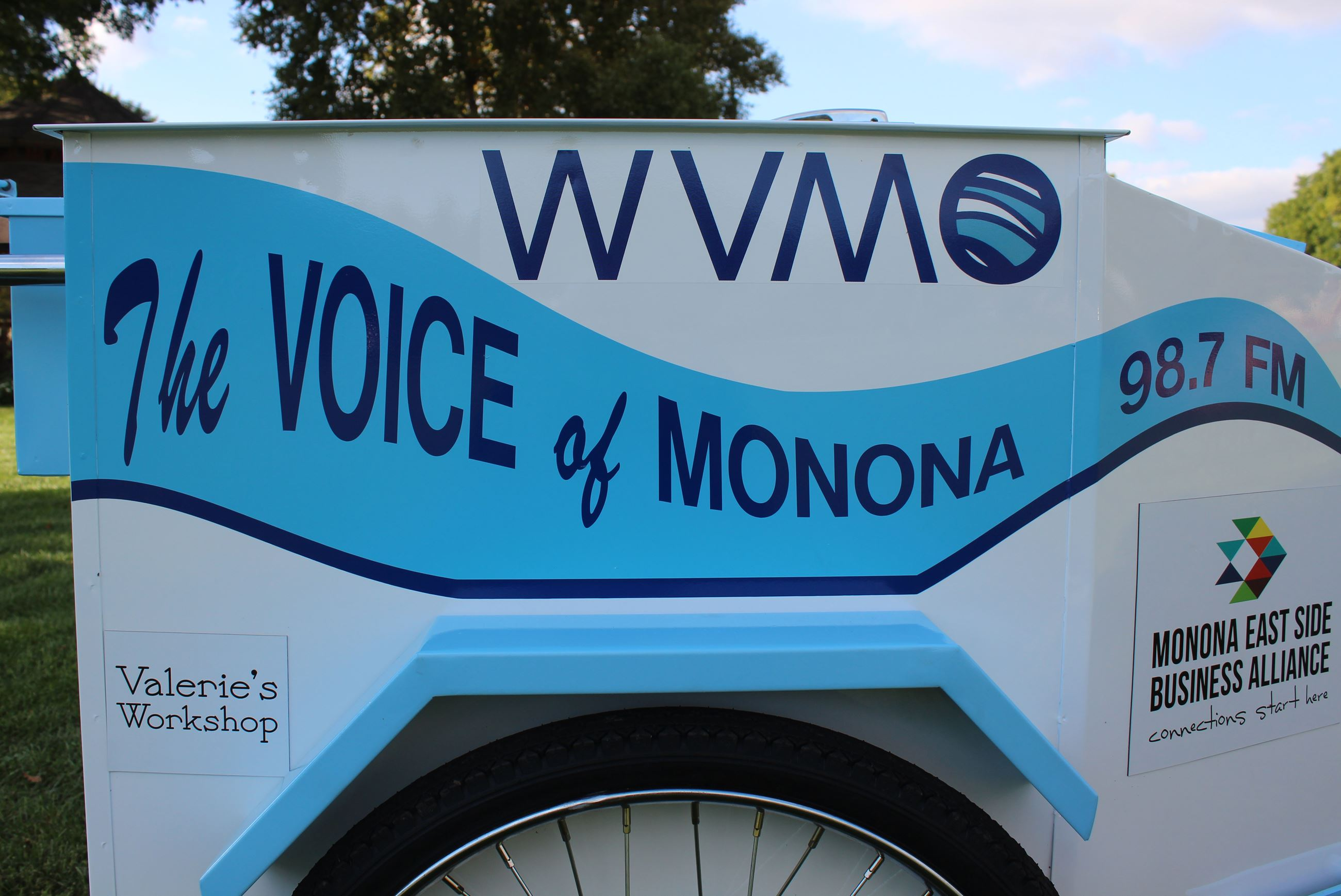 WVMO Broadcast Bike Picture