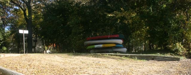 Frostwoods Beach Kayak Rack